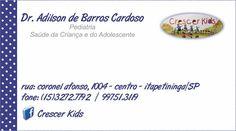 JORNAL AÇÃO POLICIAL ITAPETININGA E REGIÃO ONLINE: CLINICA CRESCER KIDS PEDIATRIA Rua. Coronel Afonso, 1004…