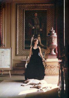 Debo Mitford, Duchess of Devonshire, sister of Diana Mitford