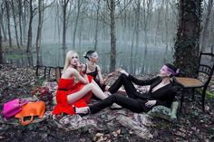 Dior's latest ad campaign, inspired by Manet's Le déjeuner sur l'herbe