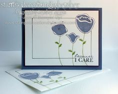Stamped Creations by Heather: Awash with Flowers Stamp Set - Stampin' Up!