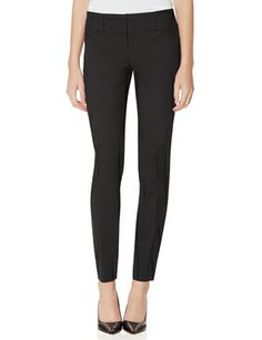 Exact Stretch Wide Waistband Skinny Pants from THELIMITED.com, $42