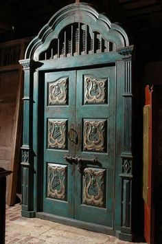 Once upon a time a beautiful armoire like this came through our store and a fabulous client made it her pantry.