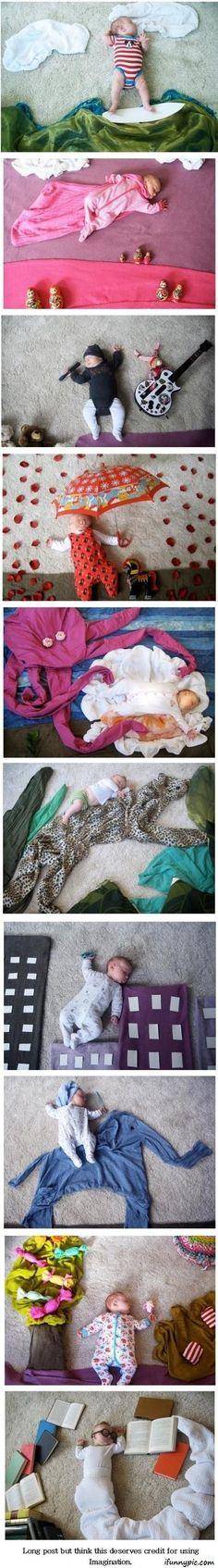 MLHA. Fotos divertidas con bebes.