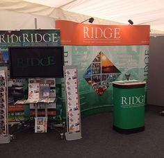 Ridge stand at the #AUDE conference, come see us and say hello!