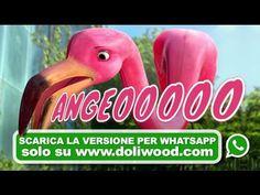 """""""E Bojade dea DOLiWOOD"""" continua: ecco qua ANGEOOOO!!!, da 'na idea estemporanea de Ciano e Roberta che prima de ndar fare spese i gà doppia un stormo de fenicotteri rosa... ecco."""