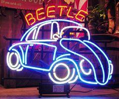 VW Beetle - Neon :-)