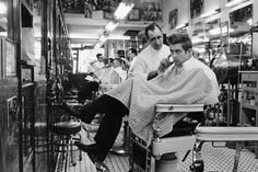 Barbershops are the only place to get cut.