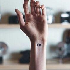 #tattoo #tatouage #photo #apareil #apareilphoto #pola #polaroid