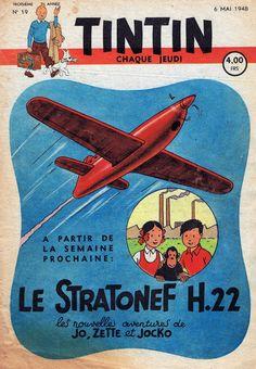 Le Journal de Tintin - Edition Belge - N° 85 - 1948-19 - Jeudi 6 Mai 1948 - Couverture : Hergé