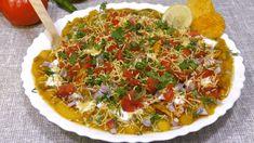 जब तरस रहेहो ठेलेवाली चाट झट से बनाओ ये चटकारे वाली चाट Ragda Chaat Recipe Chana Chaat Recipe, Matar Recipe, Samosa Chaat, Papdi Chaat, Masala Puri, Breakfast Juice, Puri Recipes, Indian Street Food