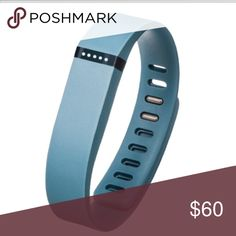 FitBit Flex includes the chip and the larger charcoal wrist band, can be adjusted to any size wrist. perfect condition, also includes charger fitbit Accessories Watches