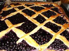 Mustikkapiirakka - blueberry bun kind of. in Finnish Blueberry, Pie, Desserts, Food, Torte, Tailgate Desserts, Berry, Cake, Deserts