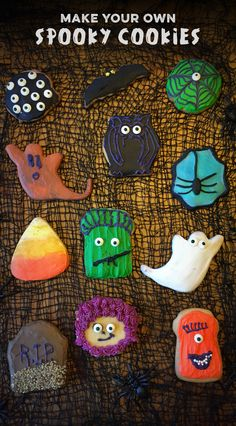 'Like' to vote for @earmarksocial's Spooky Cookies! Similar to: http://www.annies-eats.com/2010/10/26/halloween-sugar-cookies-2/ #HSPinParty Fun cookie recipe for kids!