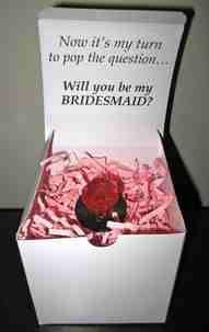 Such a cute idea for bridesmaids!!
