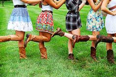 boot scootin~country girls...
