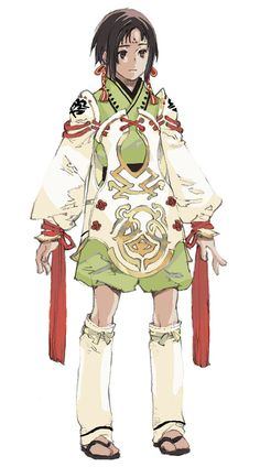 Princess Minazuru - Characters & Art - Genji: Dawn of the Samurai
