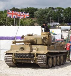 Tiger 113, Bovington tank Museum: