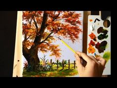 How To Paint Christmas Card Mountain Cabin Snow New Year Complete Painting Demonstration Watercolor Painting Techniques, Acrylic Painting Tutorials, Painting Videos, Painting Lessons, Art Lessons, Painting & Drawing, Watercolor Paintings, Autumn Painting, Learn To Paint