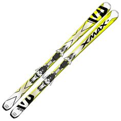 The Salomon X-Max is a dedicated front side carving ski that's designed for high speed aggressive carving turns on firm snow. Are you an absolute speed demon? Do you like making quick slalom style turns? The Salomon X-Max is an incredible quick, responsive ski. The full Ti Backbone delivers enough power for even the most aggressive skiers.
