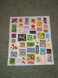 Isla's Ticker Tape quilt by Koshka2, via Flickr
