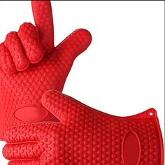 Yowzers Heat Resistant Silicone BBQ Gloves for Grilling, Cooking, Boiling, Baking, Smoking. Fire Cooking, Cooking On The Grill, Cooking Tools, Geek Gadgets, Gadgets And Gizmos, Cool Kitchen Gadgets, Cool Kitchens, Grillin And Chillin, Smoke Grill