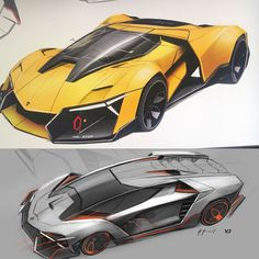 concept cars on Behance Cars Lamborghini Concept, Lamborghini Cars, Ferrari F80, Car Design Sketch, Car Sketch, Best Luxury Cars, Futuristic Cars, Car Drawings, Future Car