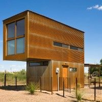 320 Square Foot Micro Home In Texas. Cool.