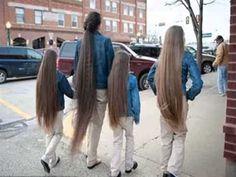 Aquí esta el secreto para hacer crecer el y tener el cabello más largo d...