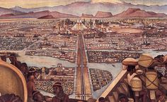 Depiction of Tenochtitlan