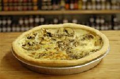 Quiches and Pies from CE Evans & Son's deli selection