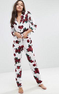 5811b152 Cute Pajama Sets, Cute Pajamas, Pajamas Women, Asos, Trendy Outfits, Fashion
