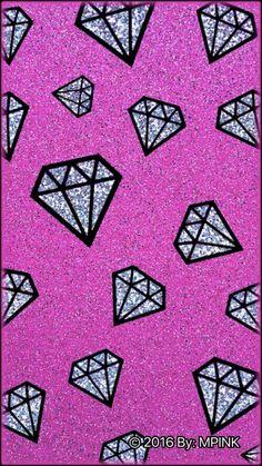 Sparkle Diamonds Wallpaper