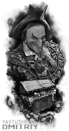 #pirate #free #tattoo #flash #artist #tattoo #dmitriy #ukraine