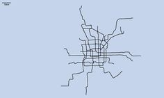 Artist and urban planner Neil Freeman of Fake is the New Real has been updating his geographically accurate maps of city subway systems, all drawn to the same scale. We've used a selection of his maps below: can you identify the cities?