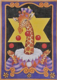 Circus Giraffe  by Maggie Co