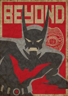 Noting like a little Russian propaganda/ Batman Beyond hybrid poster art to start your day.