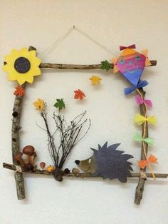 Basteln Mit Kindern arşivleri – Bastelideen 💡 Handicrafts with children arşivleri – handicraft ideas 💡 Autumn Crafts, Fall Crafts For Kids, Nature Crafts, Diy For Kids, Kids Crafts, Diy And Crafts, Arts And Crafts, Paper Crafts, Leaf Crafts