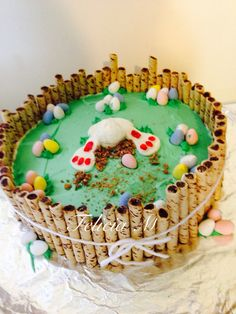 My cute Easter cake!
