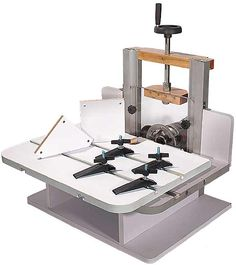 Cutting miters and bevels On a budget We ll teach you how to build a router table for 50 Http slot mortiser horizontal