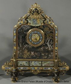 1000 Images About Art Clock On Pinterest Mantel Clocks