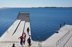JDS/JULIEN DE SMEDT ARCHITECTS, Urban Agency — Faaborg Harbour Bath and Blue Base