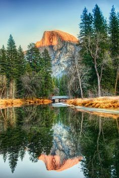 Reflections in Yosemite from #treyratcliff at www.StuckInCustoms.com - all images Creative Commons Noncommercial