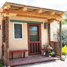 the Studio Mexican Style, New Mexico, Tao, Pergola, Outdoor Structures, Studio, Houses, Hens, Outdoor Pergola