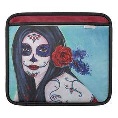Day of the dead Leela  ipad sleeve by Renee