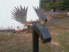 Moose mailbox