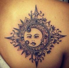 40 Attractive Sun Tattoo Design Ideas 31