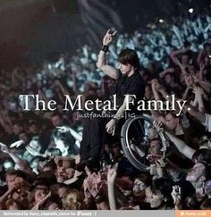 The metal family.