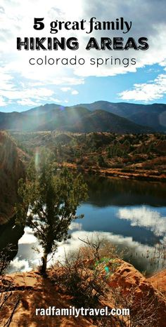 5 fun family hikes in Colorado Springs – Rad Family Travel Planning a family vacation to Colorado Springs and looking for free / inexpensive ways to enjoy the great outdoors? Here are five gorgeous, great hiking areas – Rad Family Travel Vail Colorado, Colorado Hiking, Aspen, Rocky Mountain National, Fort Collins, Vacation Trips, Vacation Spots, Vacation Ideas, Family Vacations