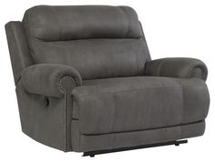 Austere - Gray Zero Wall Recliner by Signature Design by Ashley