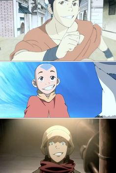 The Legend of Korra/ Avatar the Last Airbender: avatar smirk ;)